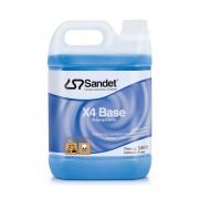 Desengraxante X4 Base Sandet 5 litros