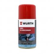 Higienizador Limpa Ar Condicionado Carro Novo Wurth 145ml