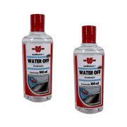 Kit 02 und. Water Off Cristalizador Repelente de Água Wurth - 100ml