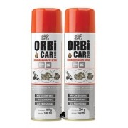 Kit 2 Descarbonizante Limpa TBI e Carburador Orbi Car 2000 - 300ml