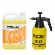 Kit Limpeza 01 Shampoo Det Mol 5l + Pulverizador Manual 1Lt.