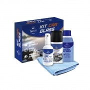 Kit Limpeza de Vidros Car Glass Tecbril