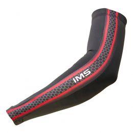 Manguito IMS Bike Onix Preto/Vermelho