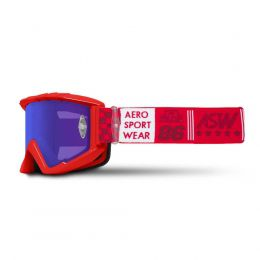 Óculos ASW A3 Glory Vermelho