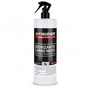 Odorizante Cheirinho Finisher Carro Novo Spray 1 Litro
