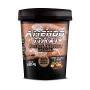 Pasta de Amendoim Integral Amendomaxi 1kg - Creme de Avelã e Cacau