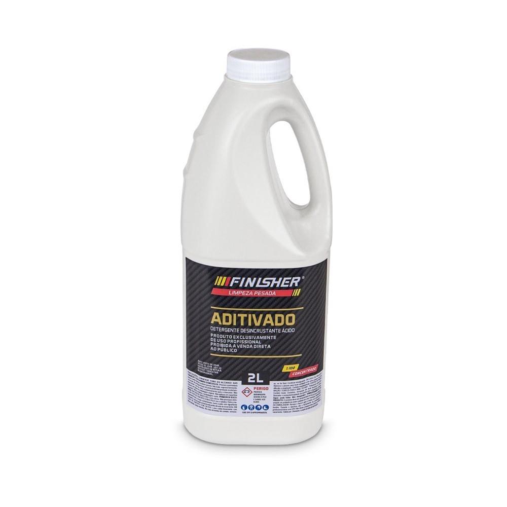 Aditivado Detergente Desincrustante Ácido Finisher 2 Litros