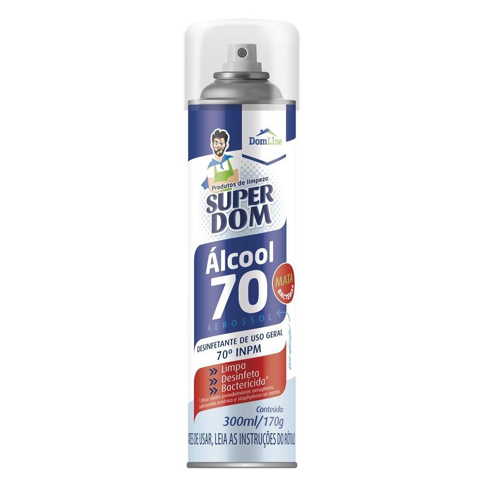Alcool 70% Super Dom Spray 300ml