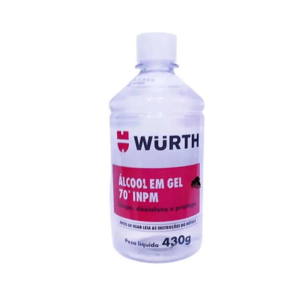 Alcool Gel 70 INPM Wurth 430g