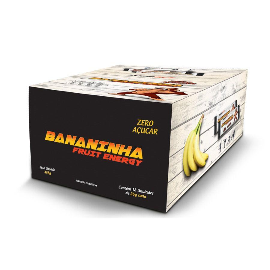 Bananinha Fruit Energy Zero Açucar 18 unidades de 26g - Sudract