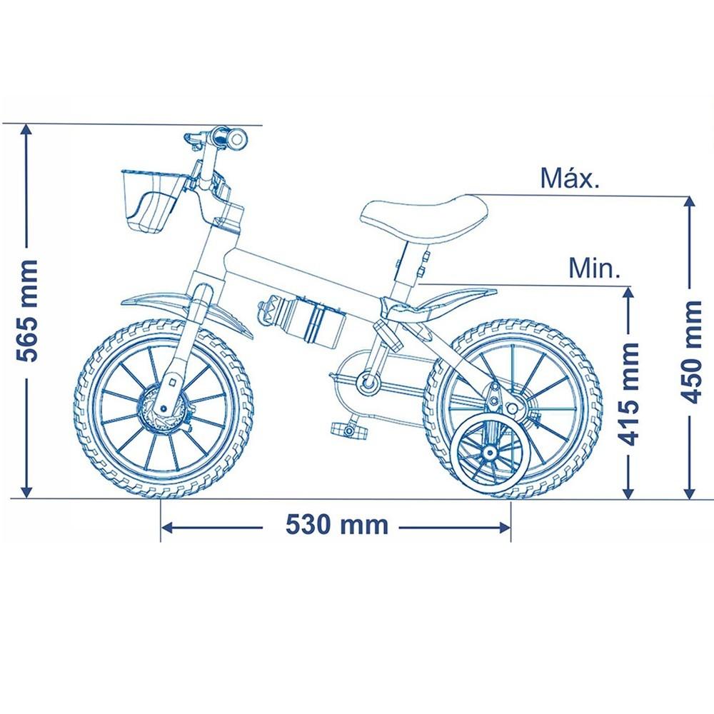 Bicicleta Infantil Nathor Aro 12 - Veloz 2