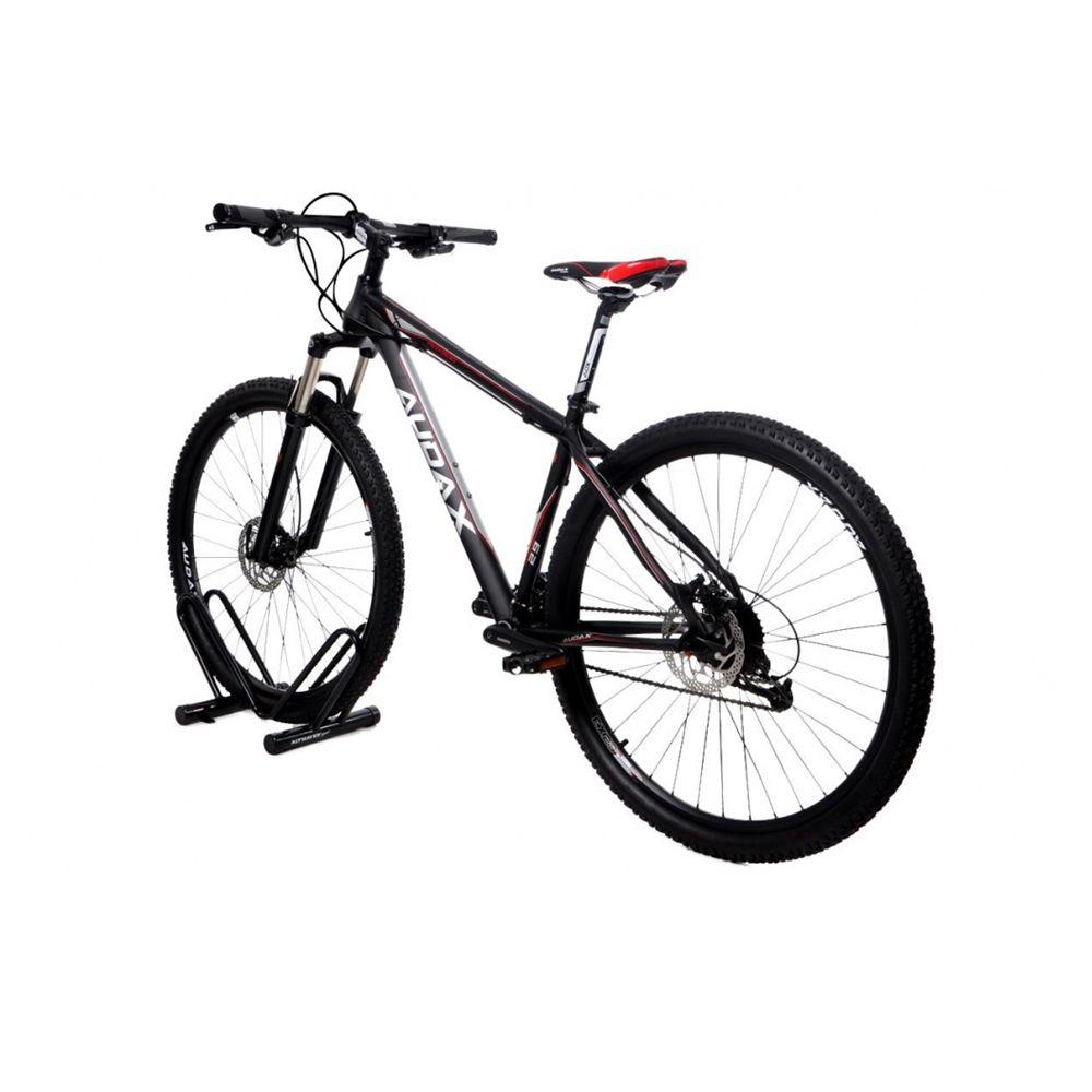 Bicicletário de Chão Individual Preto - Altmayer