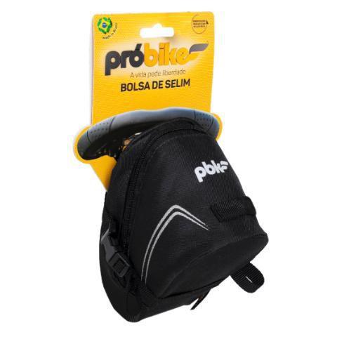 Bolsa de Selim Aero Preta - Pro Bike