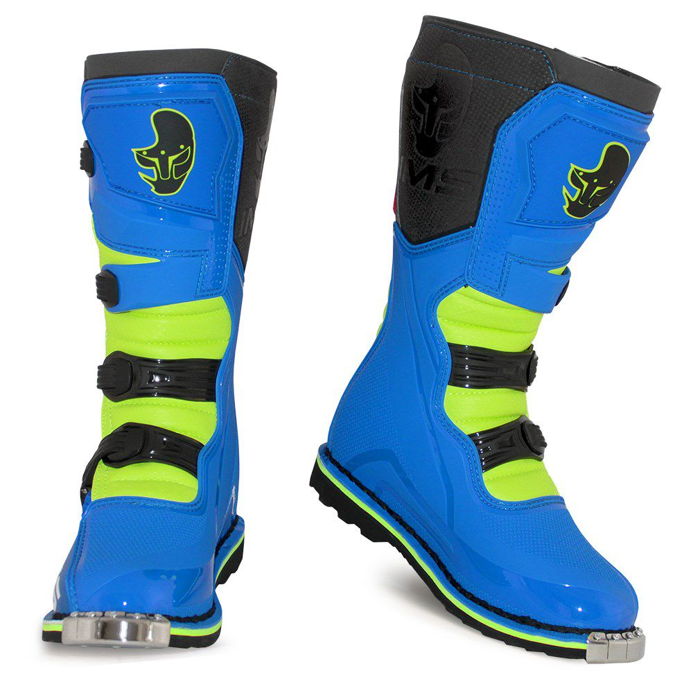 Bota IMS Light Azul/Fluor/Vermelha