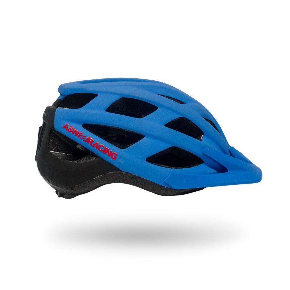 Capacete Bike ASW FUN 18 - Azul