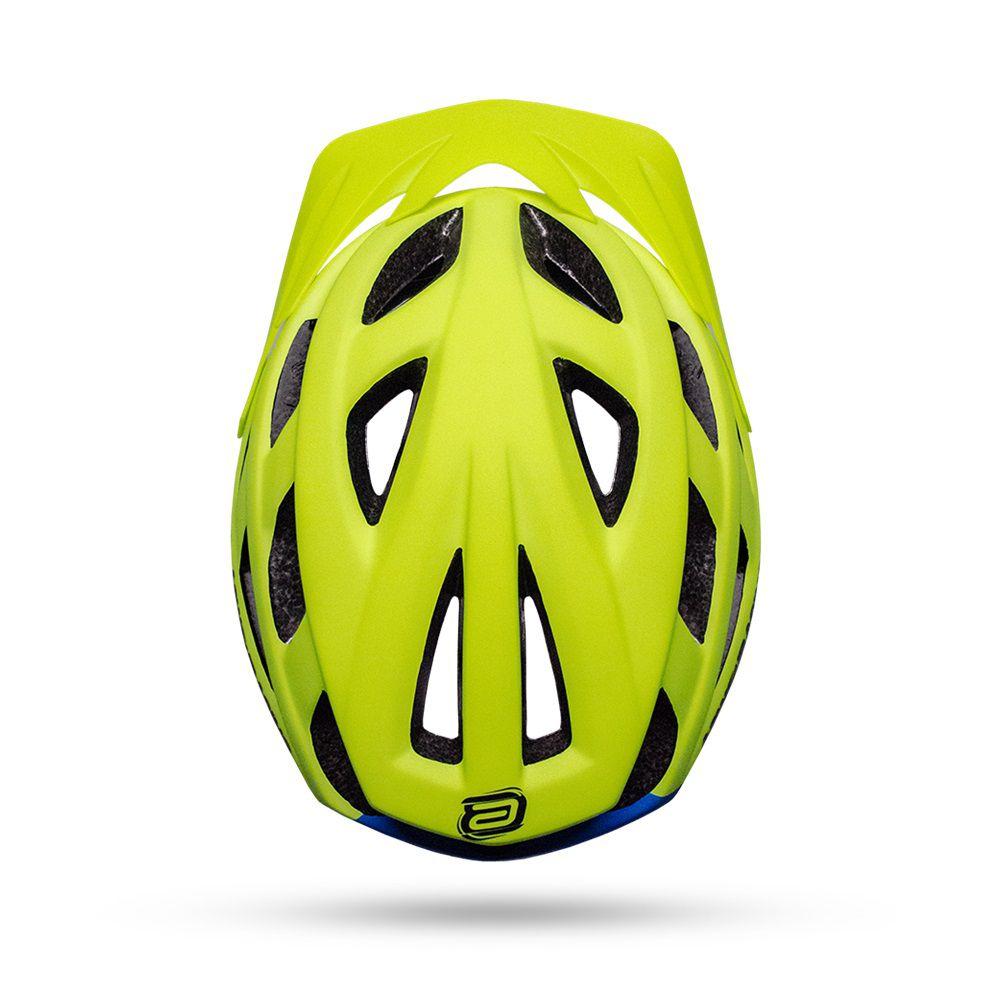 Capacete Bike ASW FUN 18 - Flúor