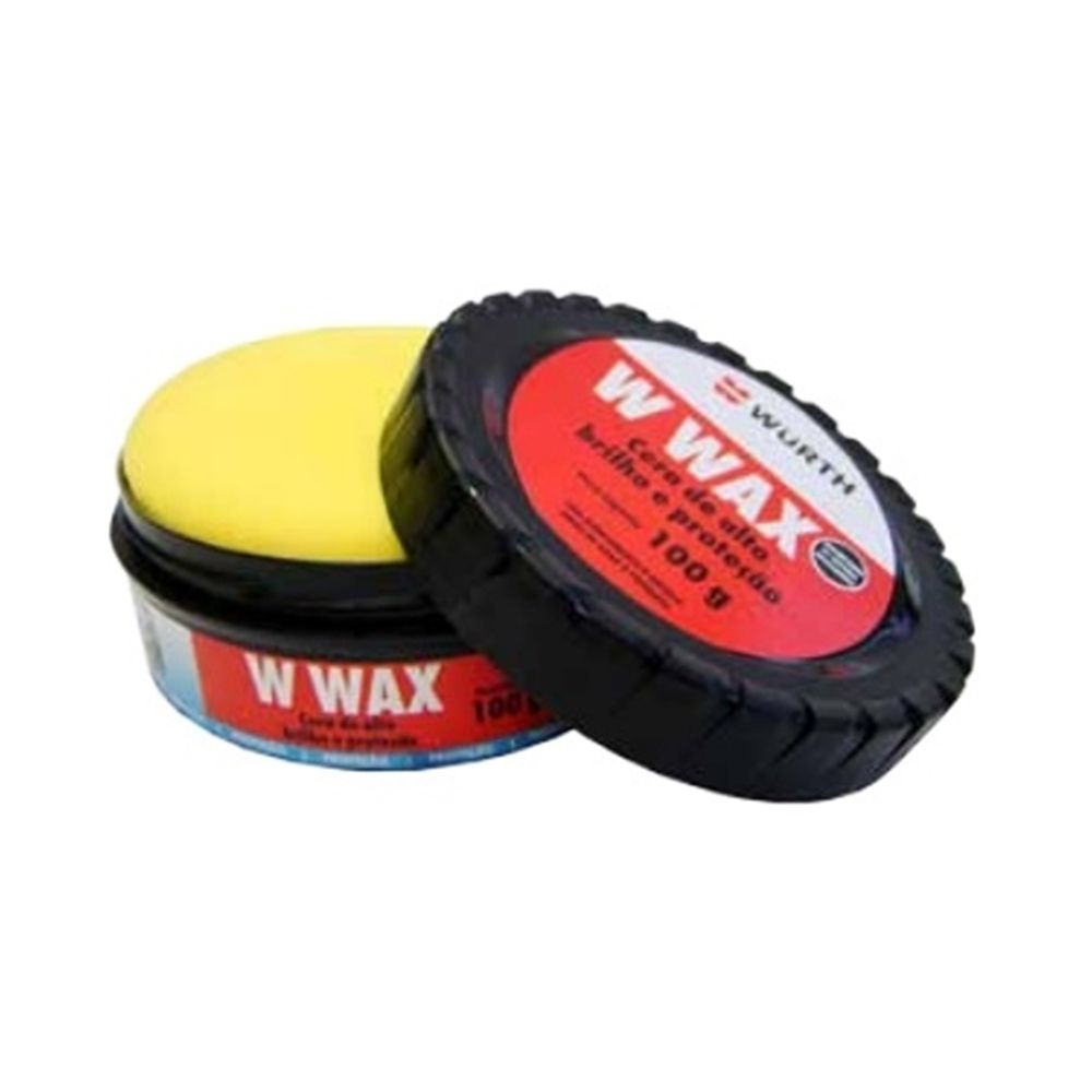 Cera Automotiva Cristalizadora W-Wax Wurth - 100g