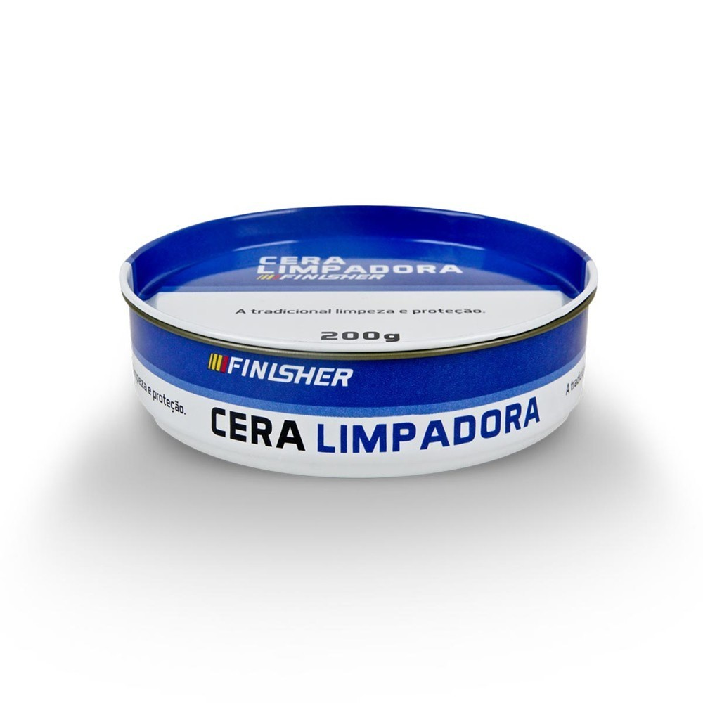 Cera Limpadora Automotiva Finisher 200g