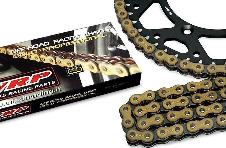Corrente de Moto 520x120 Elos Gold c/ Retentor - WRP -  Fabricada por Regina Itália