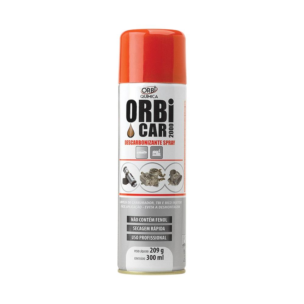 Descarbonizante Limpa TBI e Carburador Orbi Car 2000 - 300ml