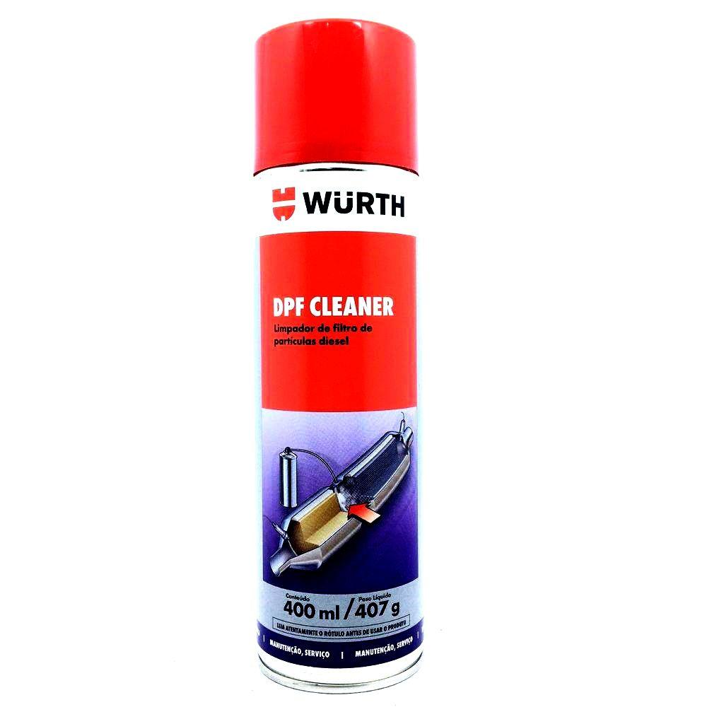DPF Cleaner Wurth - Limpador de Filtro de Particulas Diesel - 400 ml