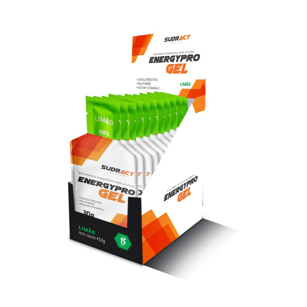 Energy Pro Gel Sudract 450g ( 15 unidades)