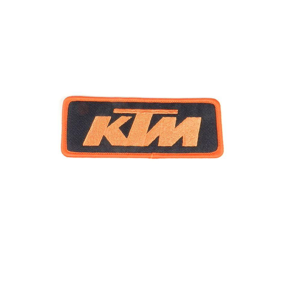 Etiqueta Bordada para Roupa Preta - KTM - Powerwear - U6906657