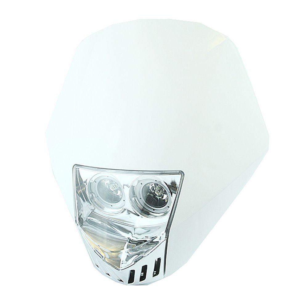 Farol Duplo Led Universal Branco - WRP - WP96571-WH