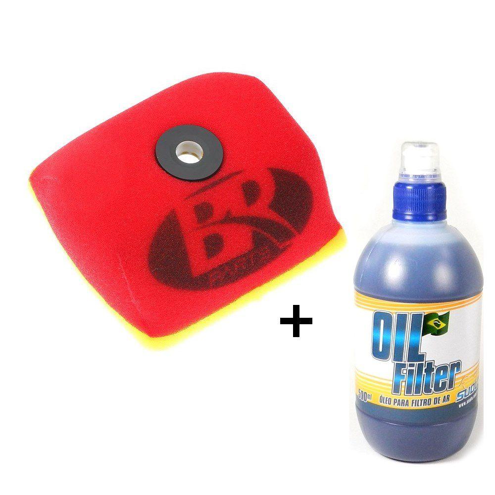 Filtro de Ar CRF 230F 03/18 BR Parts + Óleo Filtro de Ar Suolo 500ml