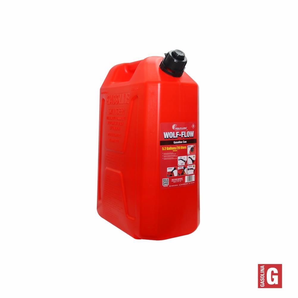 Galão de Abastecimento Combustível WOLF-FLOW 20 Litros