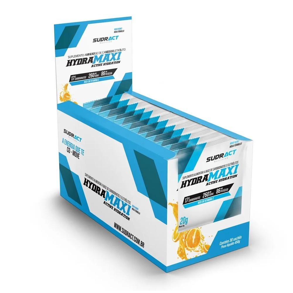 Isotônico em Pó Hydramaxi 25 sachês 20g Sudract Nutrition
