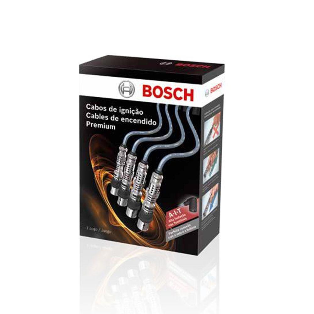 Jogo Cabo Vela de Ignição Chevrolet S10 / Blazer 4.3 V6 MPFI 1995 a 2003 - Bosch