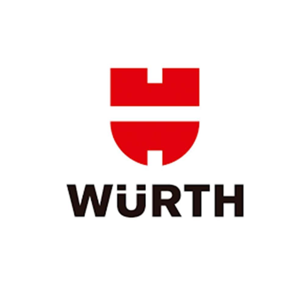 Kit 06 und. Aditivo Fluído Radiador Solução 33% - Rosada Wurth - 1L