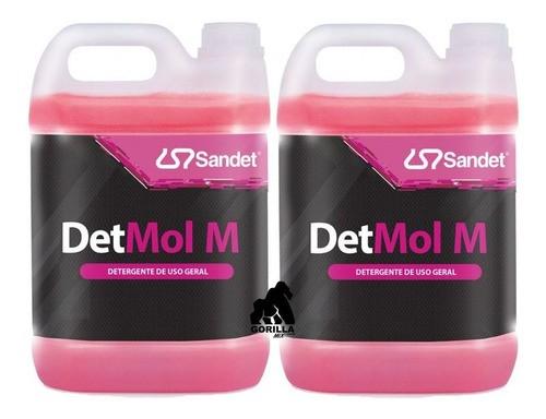 Kit 2 Shampoo Det Mol M Sandet - 5 Litros