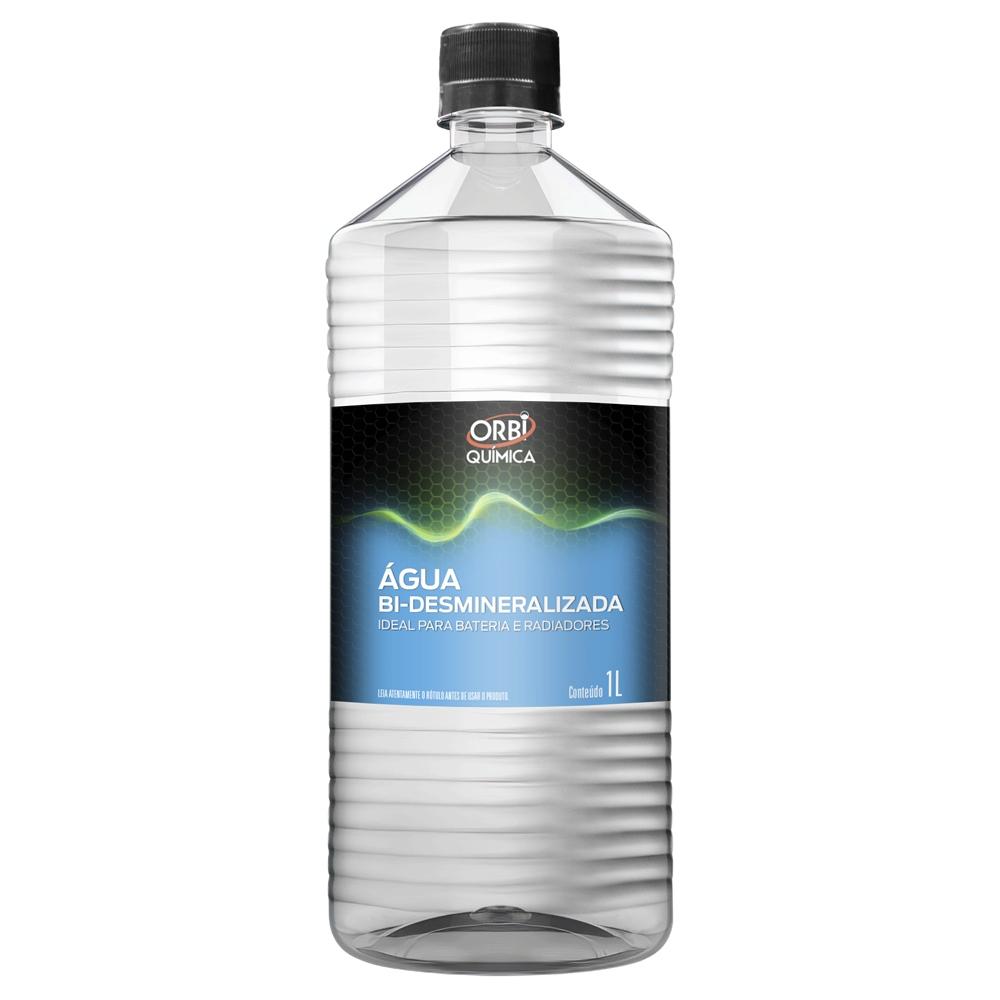 Kit 6 Agua Desmineralizada Para Baterias e Radiadores Orbi - 1L