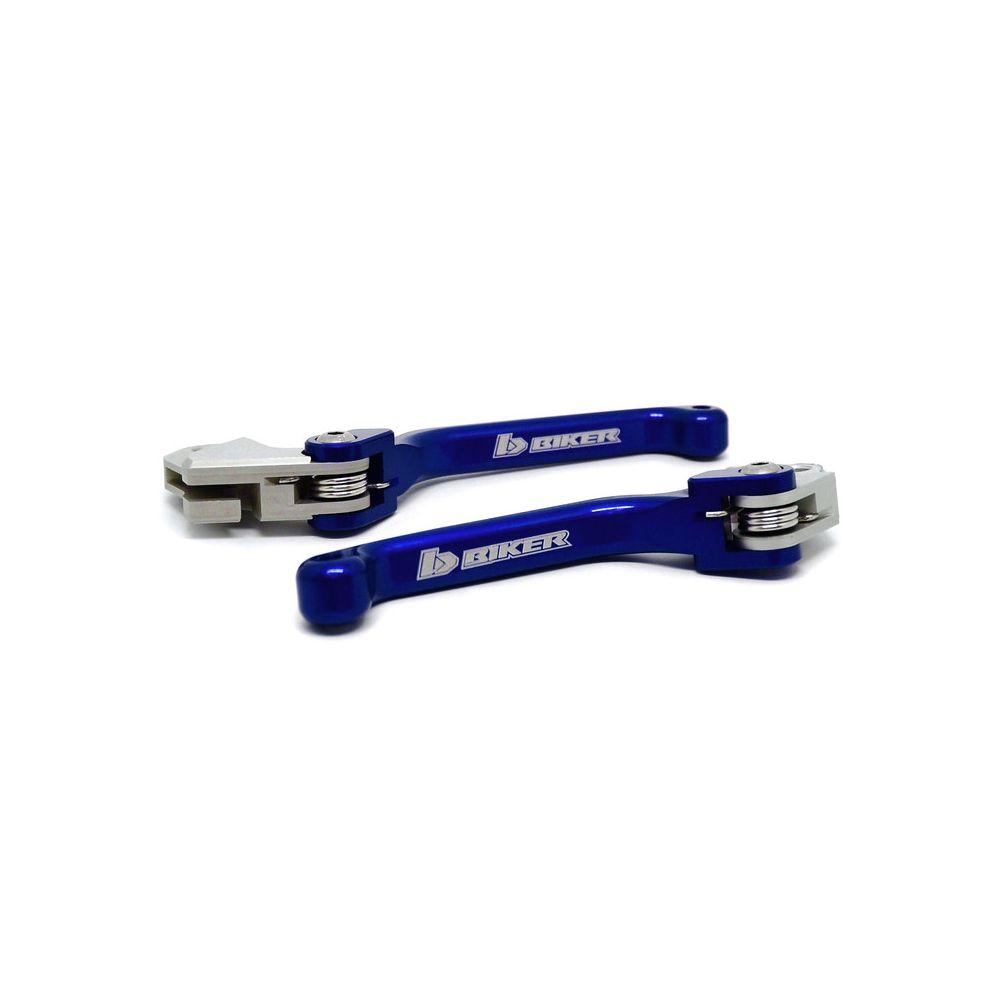 Kit de Manete Freio/Embreagem Yamaha YZF 250 (07...) e YZF 450 (08...) Azul - Biker