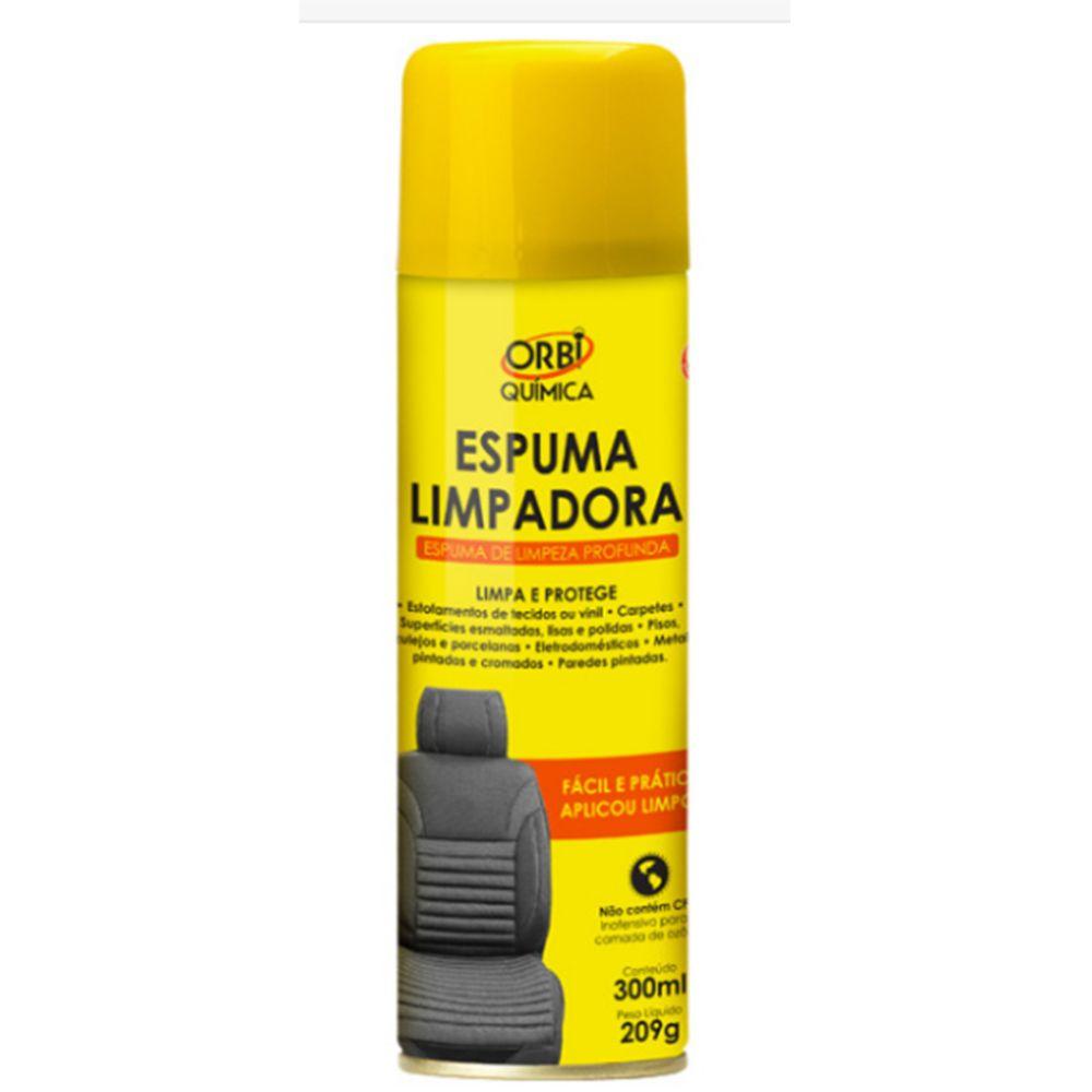 Limpa Estofados Espuma Limpadora Orbi - 300ml