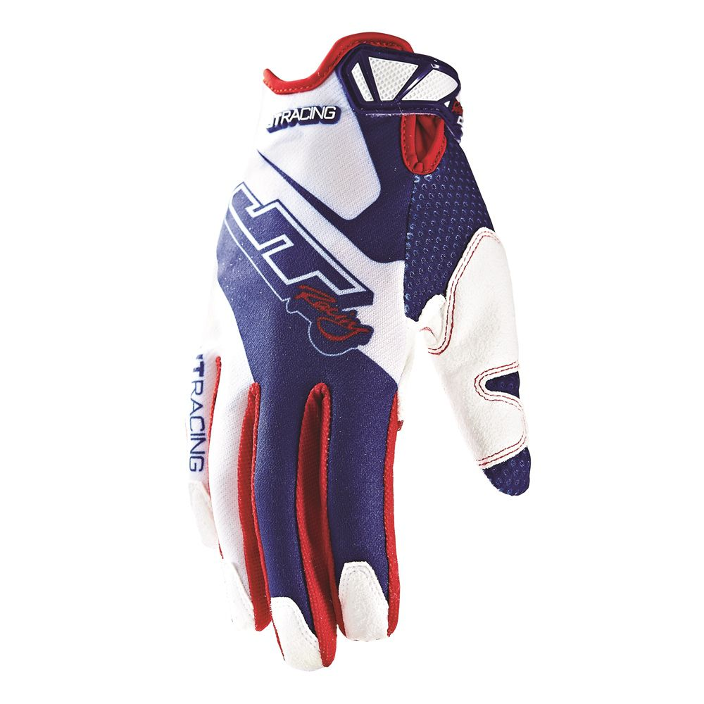 Luva JT Evolve Lite Race Vermelha/Branca/Azul