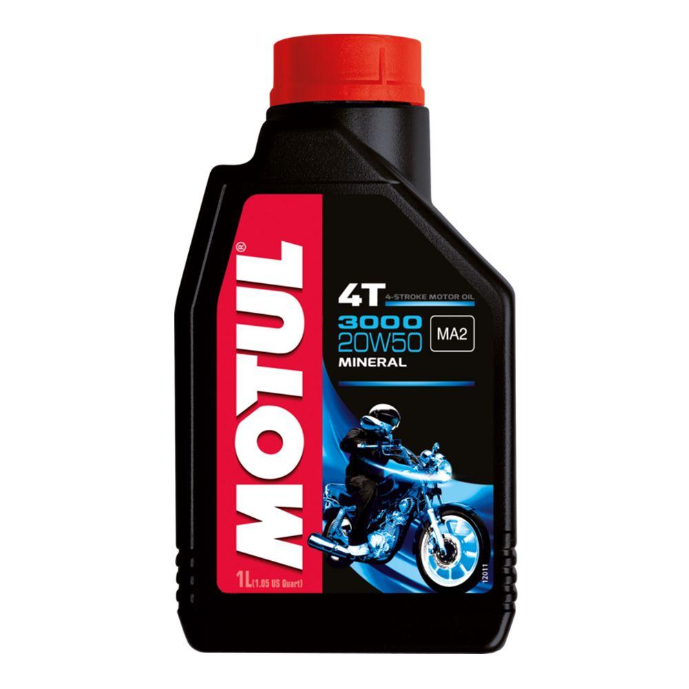 Oleo Motul 3000 20w50 4T Mineral - 1 Litro