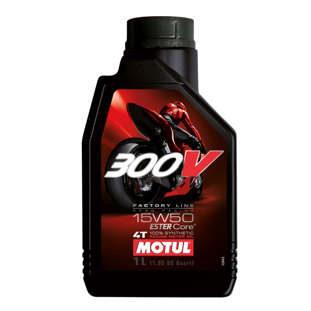 Oleo Motul 300V 15w50 4T Factory Line - 1 Litro