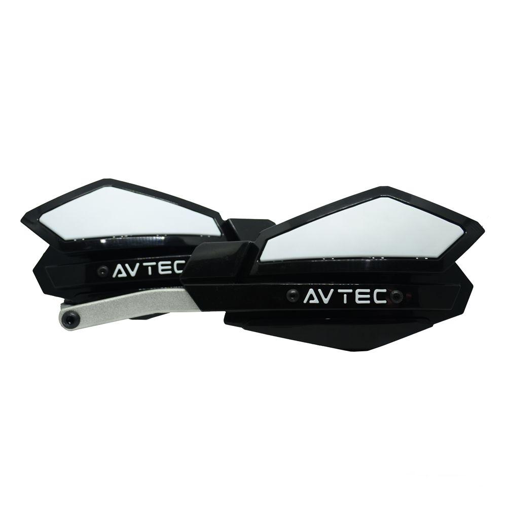 Protetor de Mão com Alma de Alumínio 22/28mm Avtec - Preto/Branco