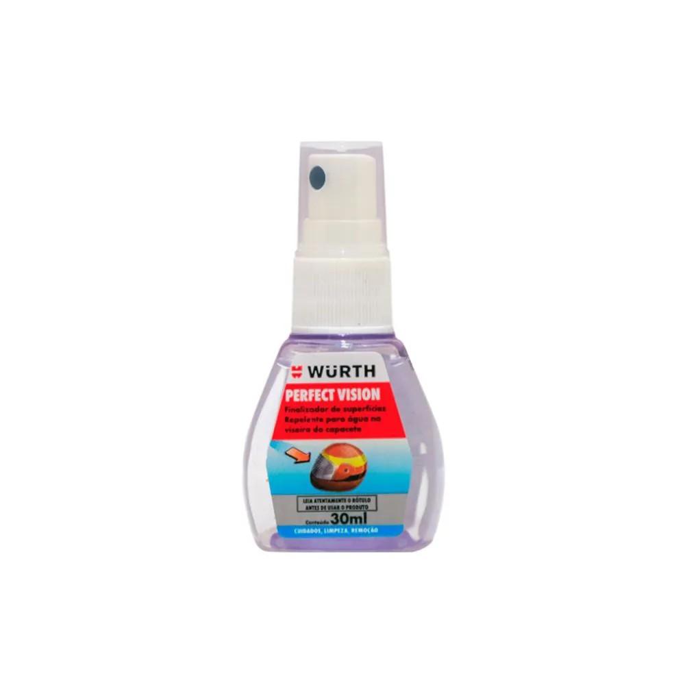 Repelente de Água em Viseira de Capacete - Perfect Vision - Wurth - 30ml
