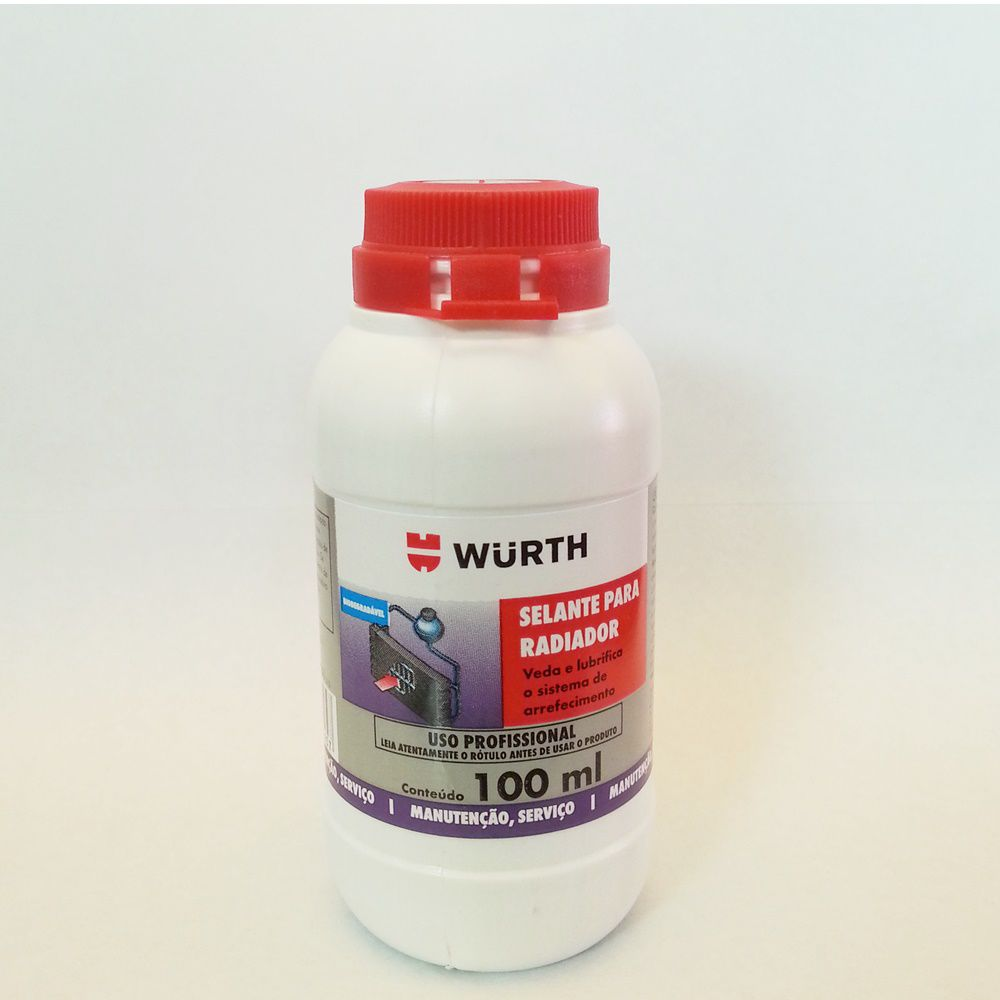 Selante Radiador Biodegradável  Wurth - 100ml