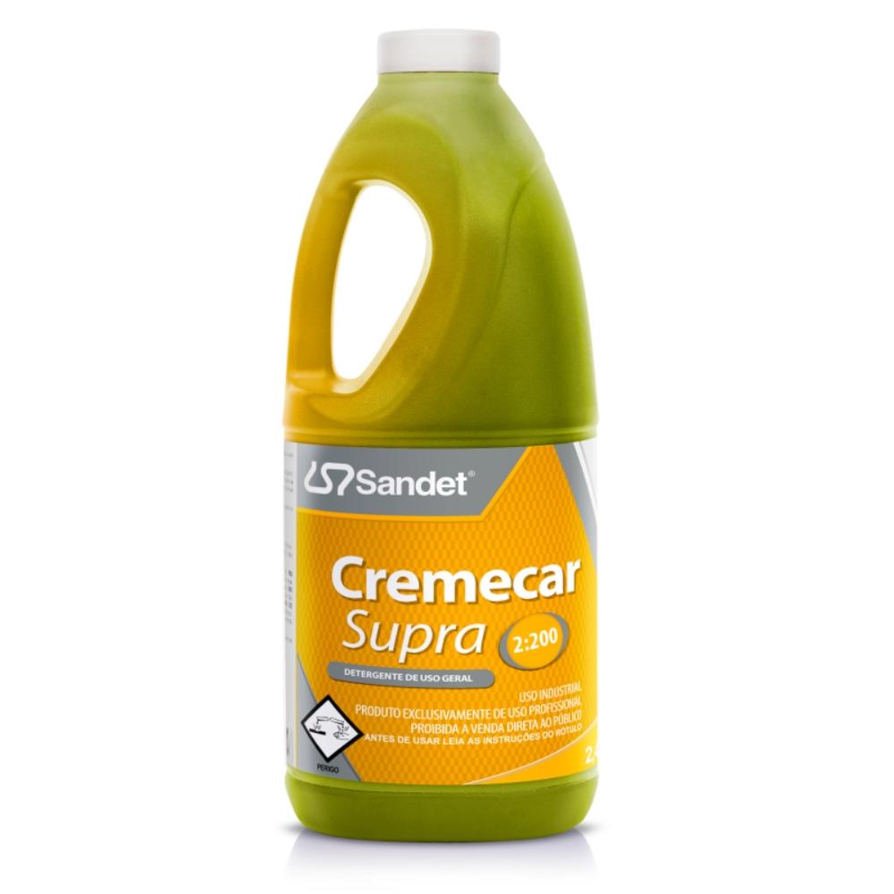 Shampoo Automotivo Cremecar Supra Sandet 2 Litros