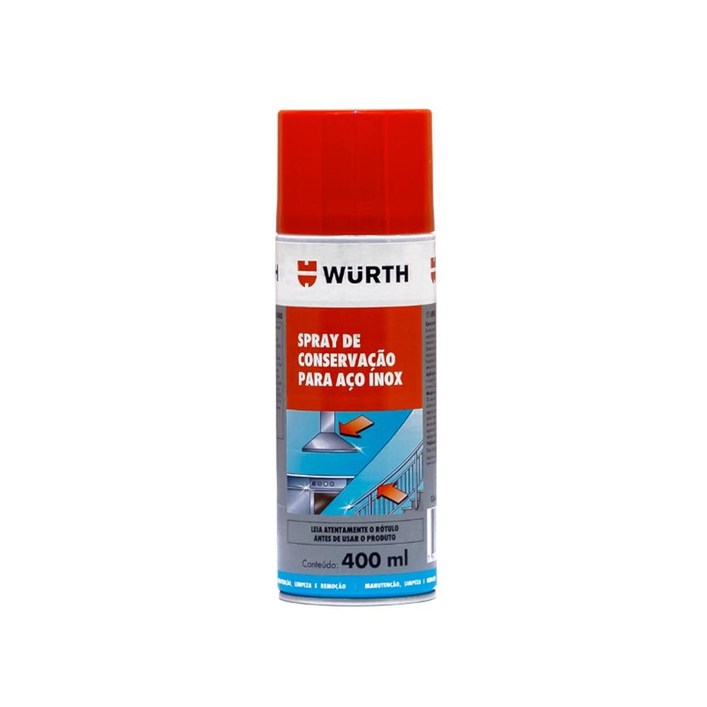 Spray para manutenção de Aço Inox Wurth - 400ml