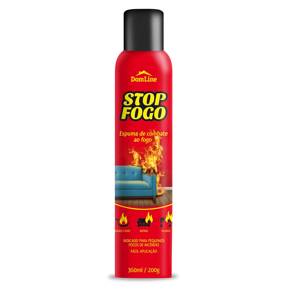 Stop Fogo Extintor Spray DomLine  360ml