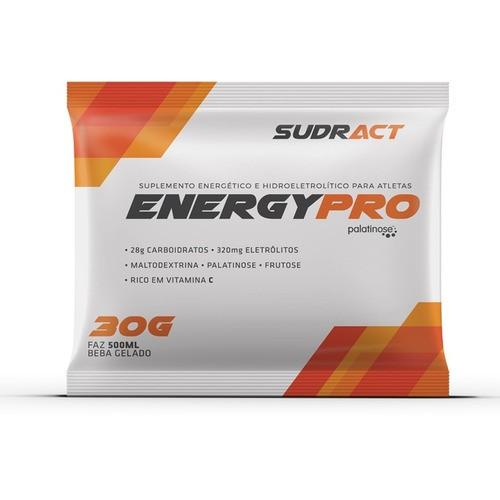 Suplemento Energético Energy Pro Sudract 30g - Caixa com 15 Unidades