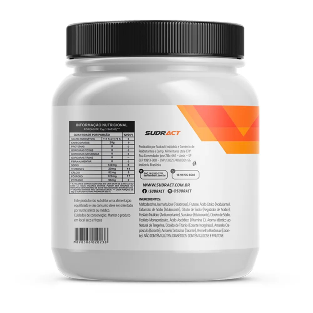 Suplemento Energético Energy Pro Sudract Pote 750g - 25 Doses