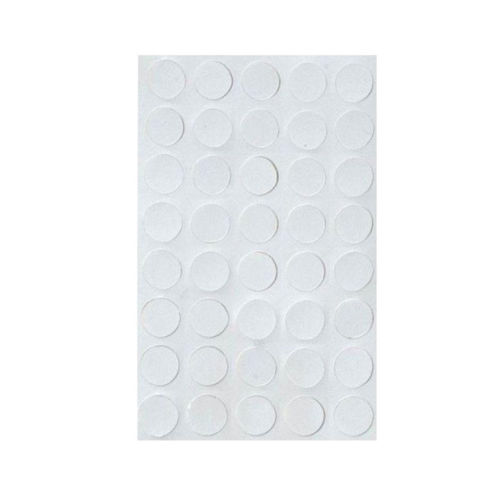 Tapa Furo Adesivo Branco Cartela c/ 70 un - 18mm - Wurth