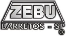 Canivete Zebu Barretos 614 Aço Inox Madeira e Latão c/ Bainha